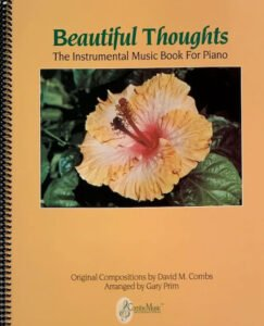 Combs Music Beautiful Thoughts Songbook Cover