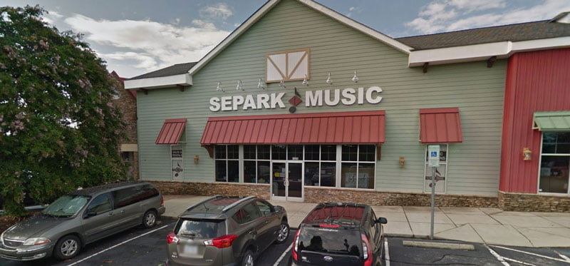Combs Music at Separk Music, Lewisville, NC