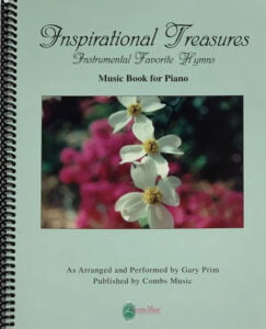 Combs Music Inspirational Treasures Song Book Coverver
