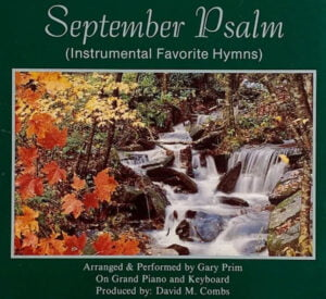 Combs Music September Psalm CD Cover